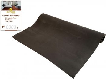 EVA Underlay Foam - Black Color